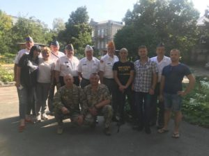 Ветерани Збройних Сил США приїхали у Бердичів