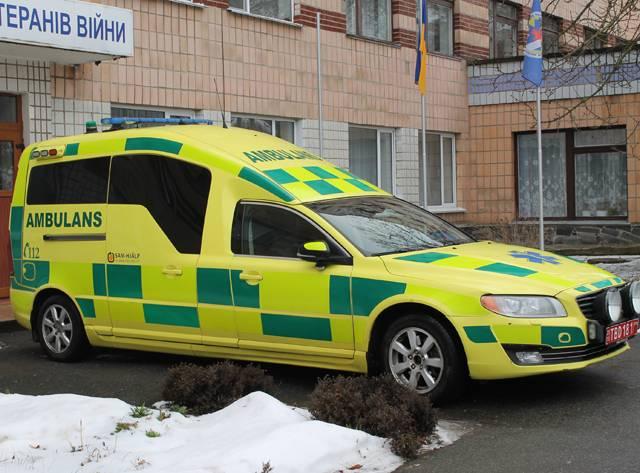 Госпіталь отримав допомогу із Швеції