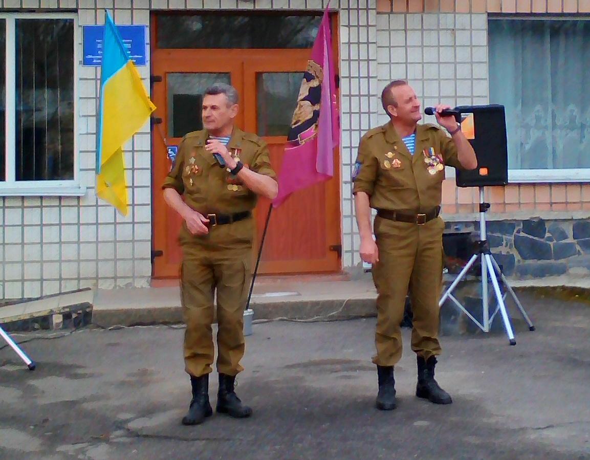 З нагоди свята до госпіталю завітала вже відома в Україні музична група «ТАШАКОР».                 В Україні 14 березня відзначається День українського добровольця.