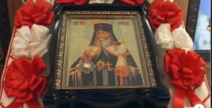 Ікона Святого великомученика і цілителя Пантелеймона перебувала у госпіталі ветеранів війни
